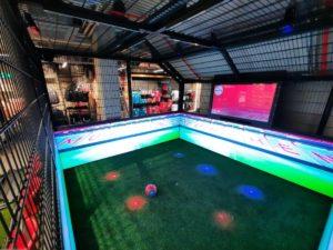 mur vidéo HD simulateur d'entrainement football